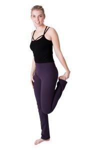 We Love Long Legs - Yogabroek donkerpaars