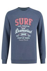 Kitaro Sweater - Surf blauw