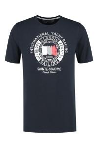 Kitaro T-Shirt - Yacht Racing Navy