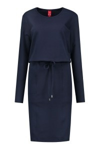 Only M - Jurk Felpa navy