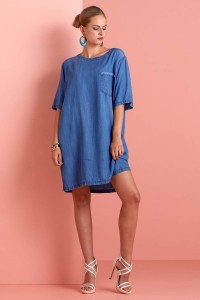 Only M - Jurk Shabby Tencel