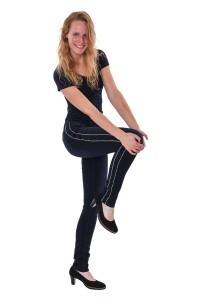 Mavi Jeans Sophie - Ink Shiny Binded