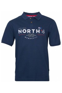 North 56˚4 Polo - Knot Navy