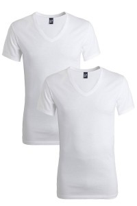 Alan Red Slim T-Shirt Oklahoma extra lang (2-pack)