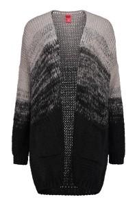 Only M - Flaminia vest zwart/grijs