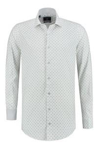 Corrino overhemd - Paisley wit