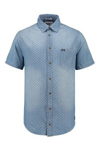 Replika Jeans Denim Overhemd print