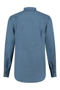 Blue Crane Tailored Fit Overhemd - Denimblauw