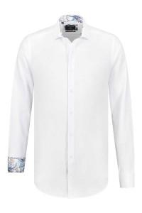 Corrino overhemd - Oxford Wit