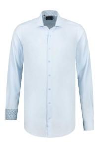 Corrino overhemd - Oxford Lichtblauw