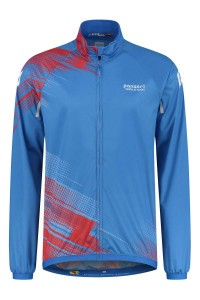 Panzeri Giro - Cycling jacket blue/red