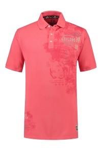 Kitaro Poloshirt - Coral