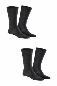 Kunert - Comfort Wool 2-Pack Anthracite