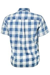 Replika Jeans Blouse - Blauw geruit
