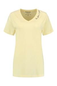 SOHO V-Neck Shirt - Future Vanilla