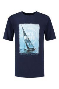 North 56⁰4 T-shirt - Nordic Supply navy