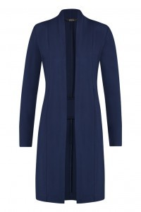 Chiarico - Vest Long Donkerblauw