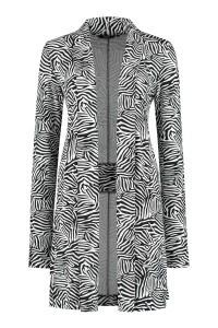 Chiarico - Vest Long Zebra