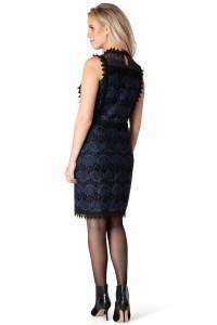 Yest Jurk - Peacock Zwart/blauw