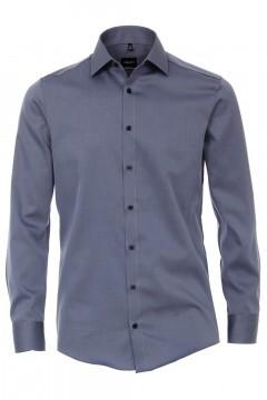 Venti Modern Fit Overhemd - Blauw