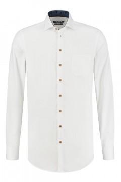 Ledûb Modern Fit Overhemd - Wit