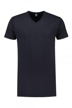 Alan Red T-Shirt - Vermont Navy extra lang