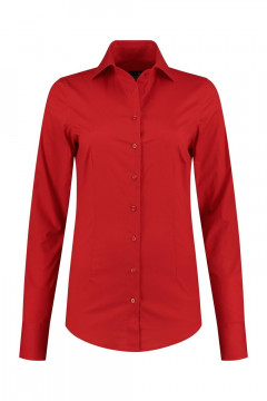 Sequoia - Basic blouse rood