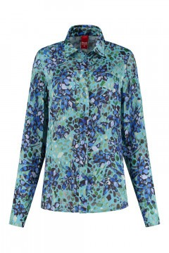 Only M - Blouse Gabbiano Blue