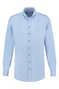 Blue Crane Tailored Fit Overhemd - Lichtblauw