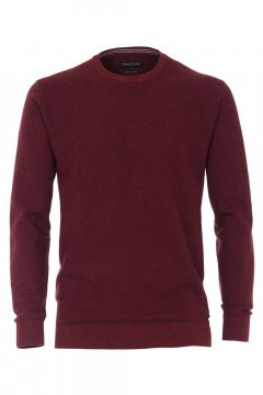 Casa Moda gebreide sweater - Donkerrood