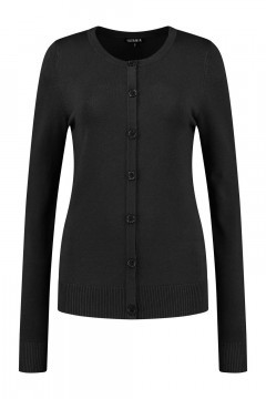 Casa Mia - Basic Vest Zwart