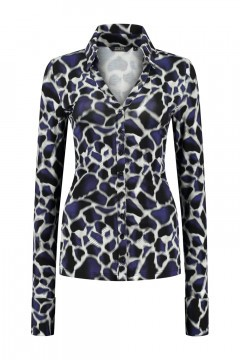 Chiarico - Blouse Liv Blue Animal