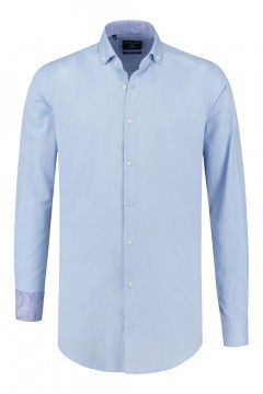 Corrino overhemd - Oxford Hemelsblauw