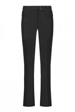 Only M Pantalon - Sienna Wide Nero