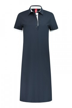Only M - Jurk Sporty Chic Polo navy