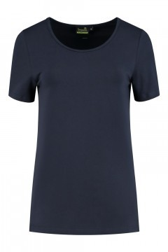 Sequoia - Basic top korte mouw navy