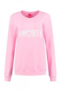 Only M - Sweater Amore roze