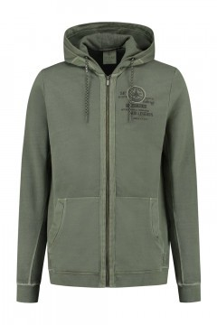 Kitaro Sweat Jacket - Air Legends Olive