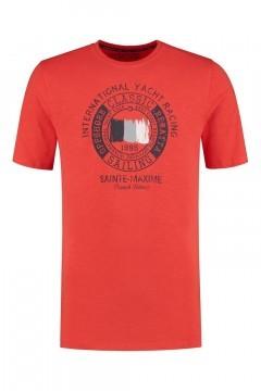 Kitaro T-Shirt - Yacht Racing Rood