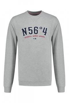 North 56˚4 Sweater - Nordic Apparel grijs