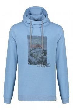 Kitaro Sweater - Adventure lichtblauw