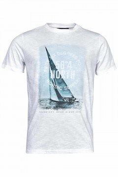 North 56⁰4 T-shirt - Nordic Supply wit