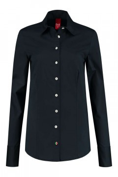 Only M - Blouse Basic Donkerblauw