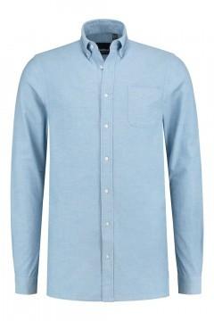 North 56˚4 Overhemd - Lichtblauw