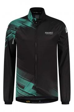 Panzeri Giro - Wielerjack zwart/turquoise