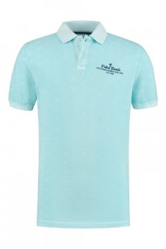 Kitaro Poloshirt - Palm Beach Blue