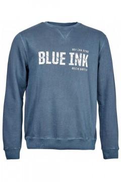 Replika Jeans Sweater - Blue Ink donkerblauw