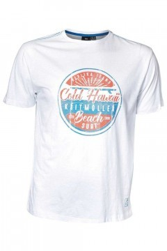 Replika Jeans T-shirt - Cold Hawaii wit