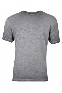 Replika Jeans T-Shirt - Workers Donkergrijs