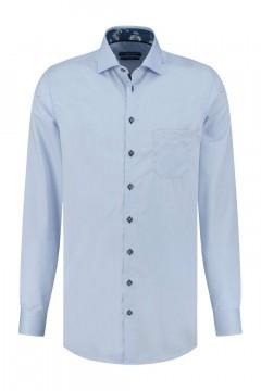 Ledûb Modern Fit Overhemd - Lichtblauw